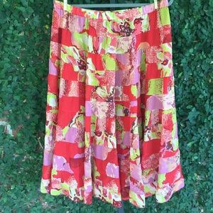 Coldwater Creek Tiered Maxi Skirt Size PXL